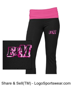 Youth Yoga Pant Design Zoom